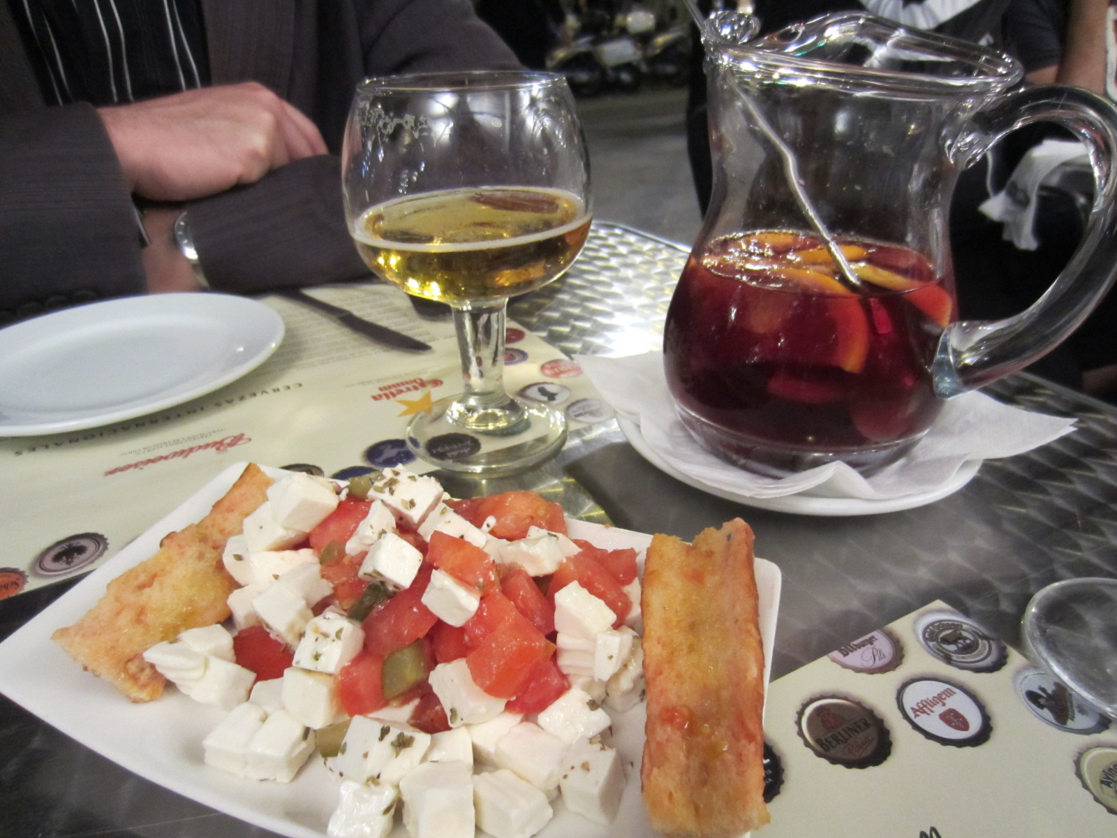 barcelona food and drink prices