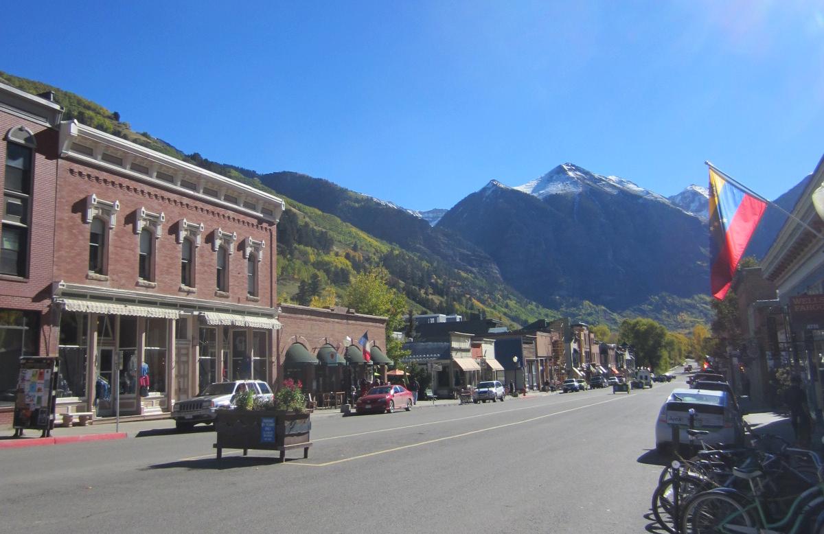 Fall In Telluride Colorado Boarding Pass