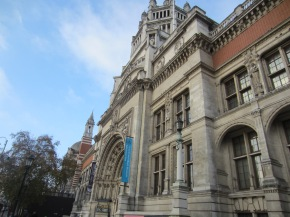 Visiting the Victoria and Albert Museum