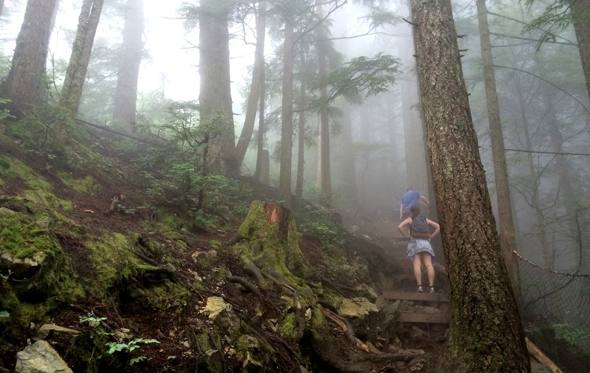 Hiking The Grouse Grind In Vancouver Boarding Pass