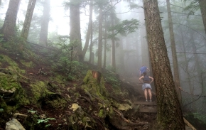 Hiking the Grouse Grind