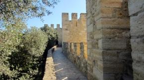 Visiting the São Jorge Castle inLisbon