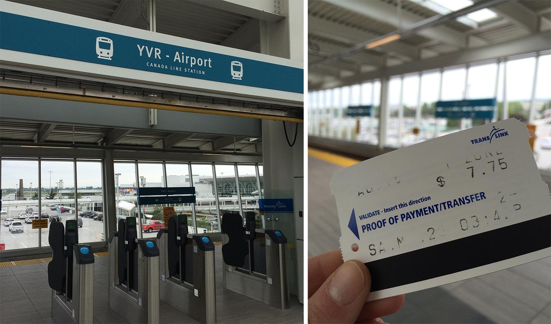 Skytrain Travel Times