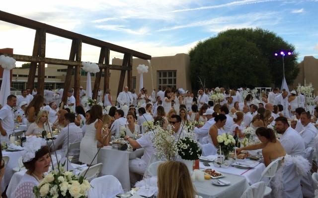Diner en Blanc ABQ 2015