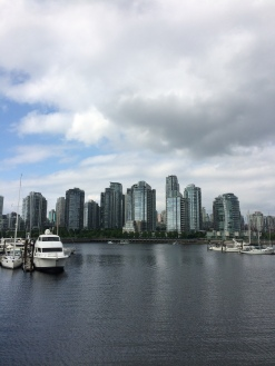 Downtown Vancouver city skyline