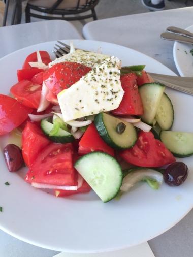 Traditional Greek salad