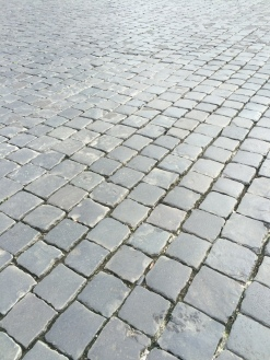 If these cobblestones could talk...