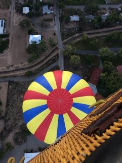 Balloon crossing