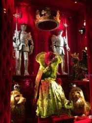 Swarovski crystal display at Bergdorf Goodman
