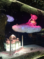Winter Wonders of the World display at Saks Fifth Avenue