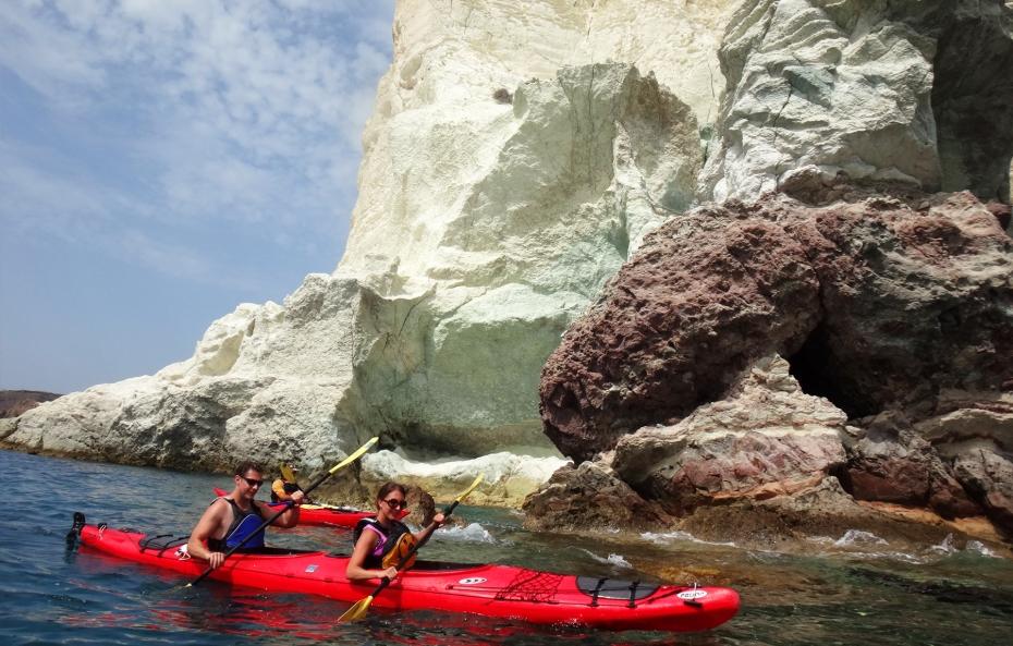 Santorini Sea Kayak 1