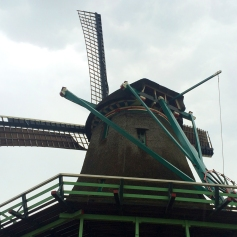 Working windmill at Zaanse Schanse