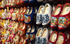 Handmade wooden clogs for sale