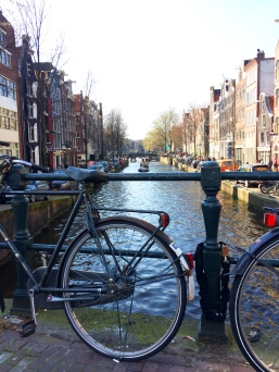 Bikes and bridges in Amsterdam