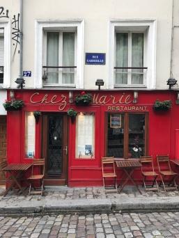 Montmartre bistro