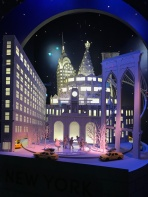 NYC in miniature at Lord & Taylor