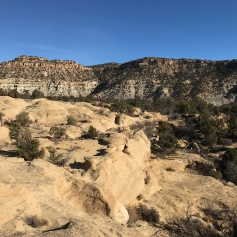 View from the top of Ditch Canyon