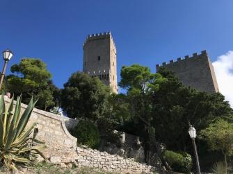 Hilltop castle in Erice