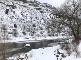 Winter wonderland in Durango