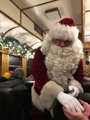 Special visit from Santa Claus