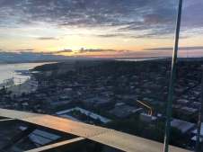 Gorgeous view above Seattle