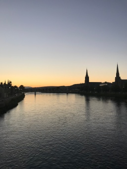 Sunset in Inverness