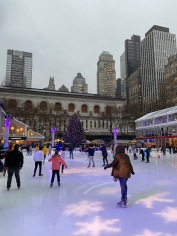 Ice Skating at Bryant Park