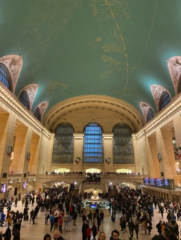 The celestial ceiling of Grand Central