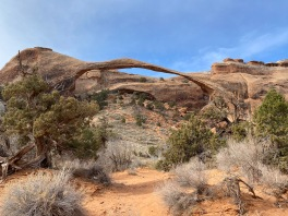 Landscape Arch is the largest arch in North America
